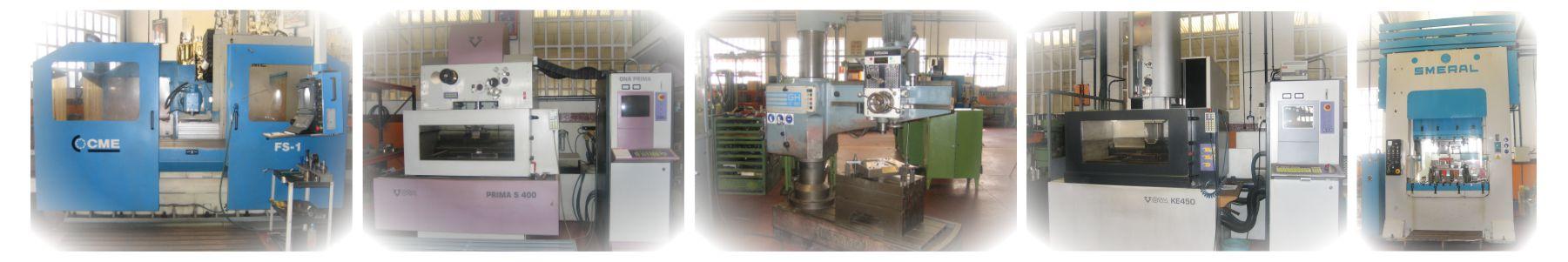 fresadoras y tornos CNC